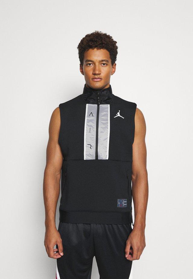AIR VEST - T-shirt sportiva - black/white