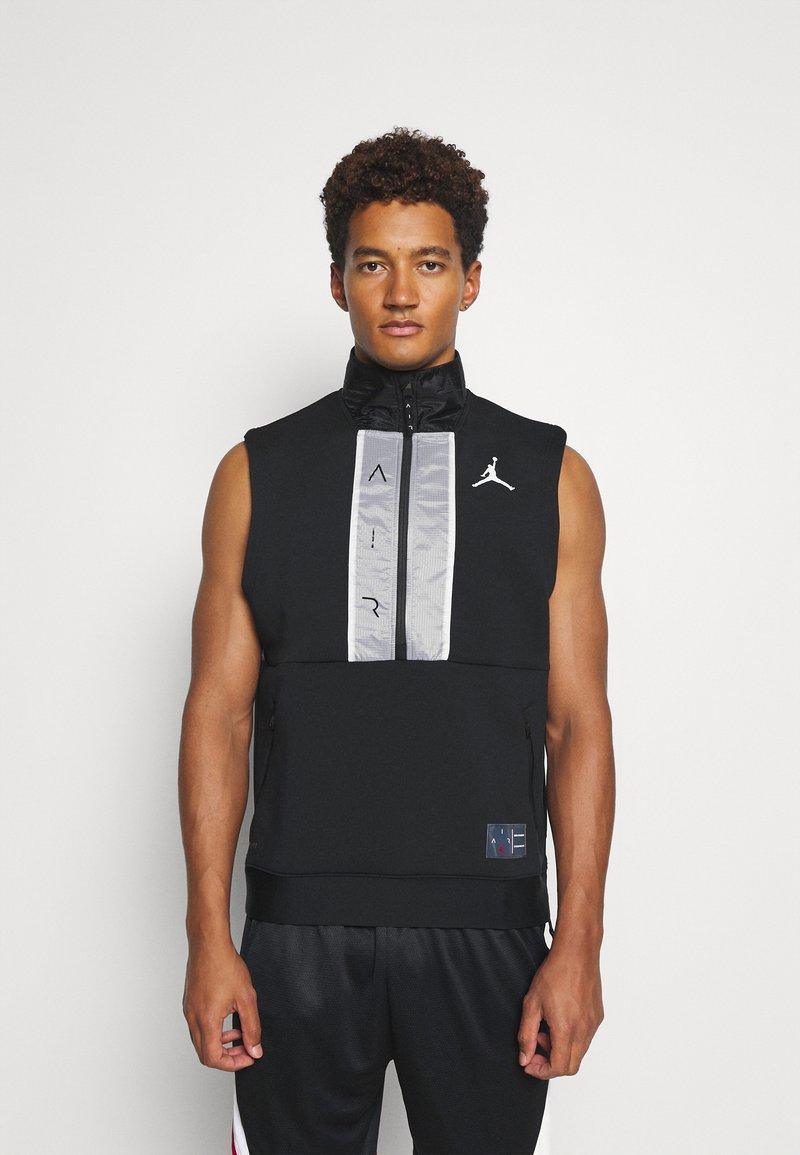 Jordan - AIR VEST - T-shirt sportiva - black/white