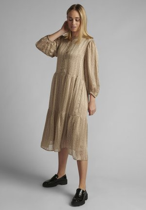 Day dress - sesame