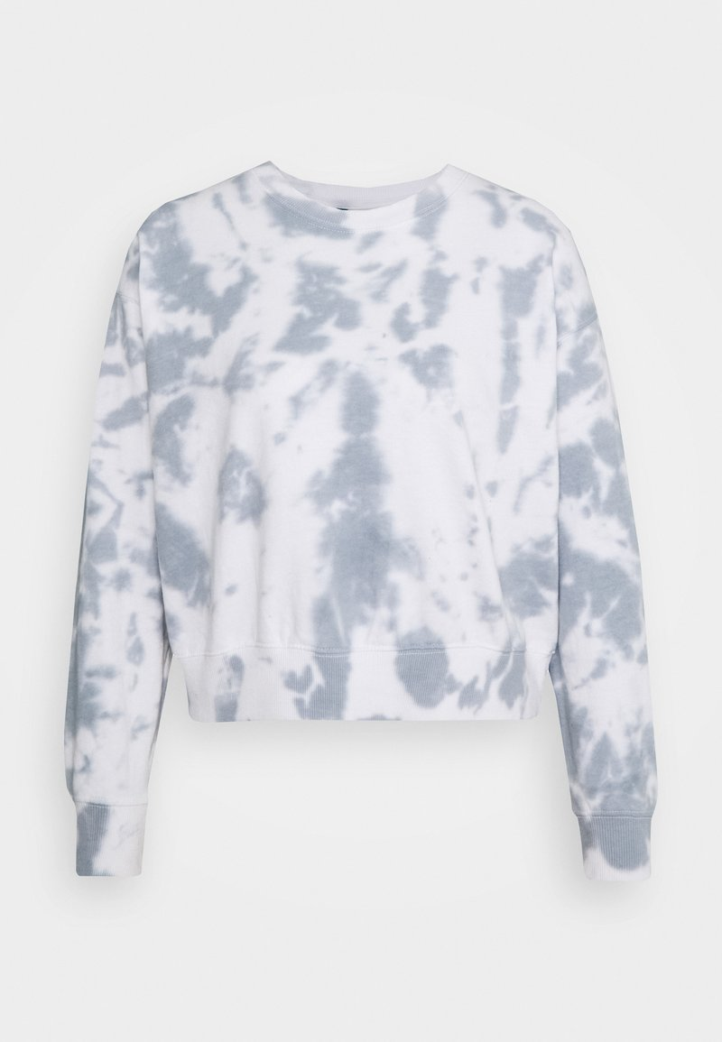 New Look - TIE DYE - Sweatshirt - dark grey
