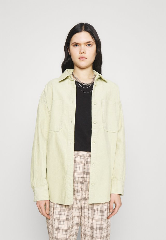 CONNY  SHIRT - Button-down blouse - green solid