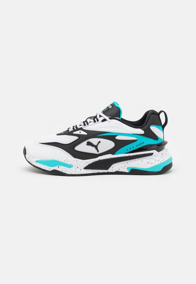 RS-FAST NANO UNISEX - Sneakers laag - white/black