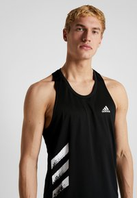 adidas Performance - SINGLET - Sports shirt - black - 3