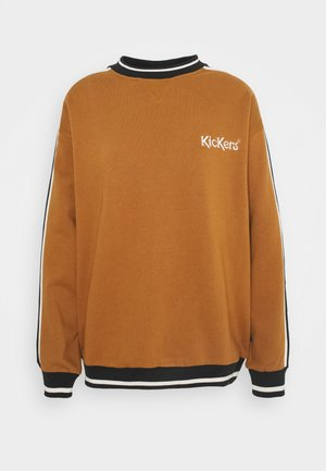 SLEEVE PANEL - Sweatshirt - brown