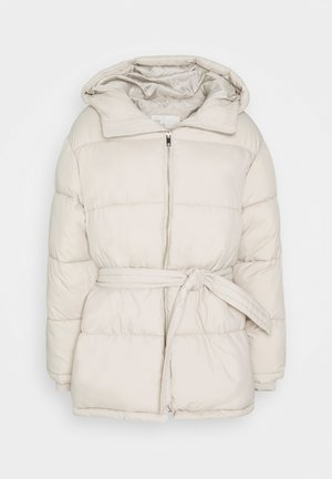 PRECIOUS PUFFER JACKET - Winter jacket - beige