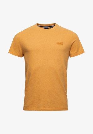 VINTAGE LOGO EMB - Basic T-shirt - ochre marl