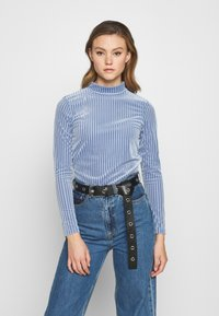 Monki - PIRA - Long sleeved top - blue - 0