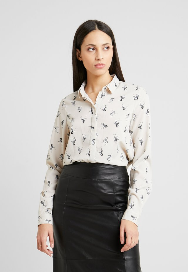 VMFEDORA  - Button-down blouse - birch