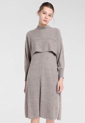 Robe en jersey - taupe