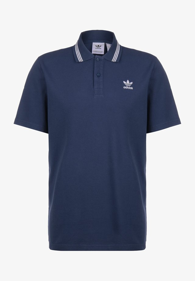 ADICOLOR TREFOIL SHORT SLEEVE POLO - Polo - night marine