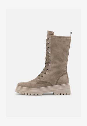 Lace-up boots - salbei/dust