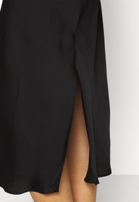 Anna Field - SIMPLE LONG LINE NIGHTIE  - Negligé - black - 5