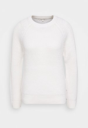 HALFCARDIGAN - Jumper - off white