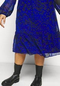 Evans - ANIMAL DRESS - Day dress - blue - 3