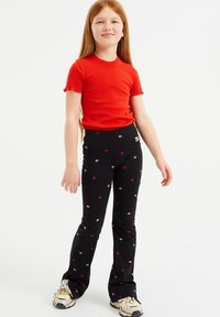 WE Fashion - Pantaloni - black - 0