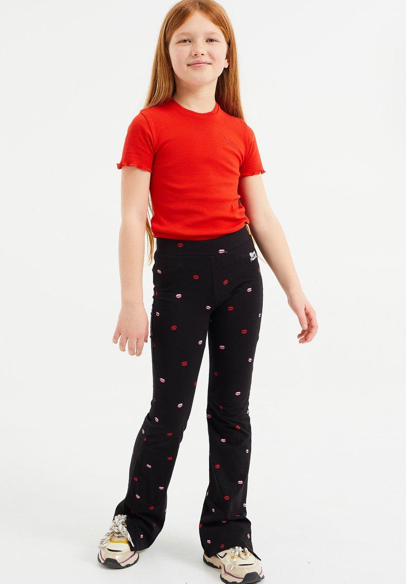 WE Fashion - Pantaloni - black