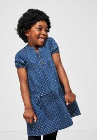 s.Oliver - Denim dress - blue dots - 0