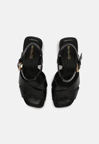 Minelli - Platform sandals - noir - 4