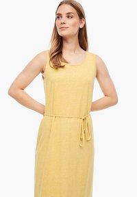 s.Oliver - Maxi dress - yellow melange - 4