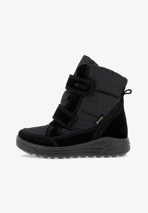 URABN SNOWBOARDER NIGHTSKY - Vinterstøvler - black/black