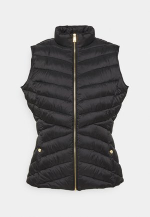 INSULATED VEST - Waistcoat - black