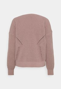 Abercrombie & Fitch - STITCHY - Jumper - pink - 1