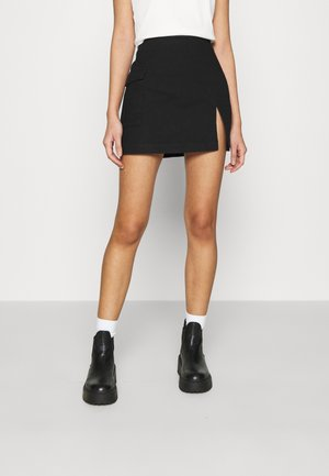 MINI SKIRT - Mini skirts  - black