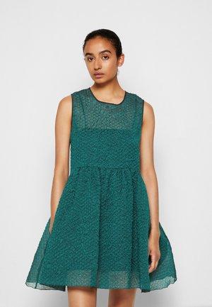 SLEEVELESS MINI DRESS - Cocktail dress / Party dress - emerald green