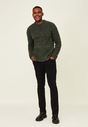 Fleece jumper - green melange