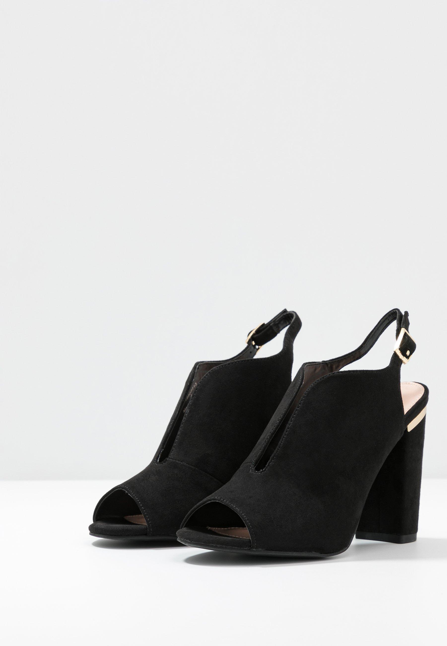 Dorothy Perkins SKYLAR - Sandalen met hoge hak - black - Damesschoenen 2020 Nieuw