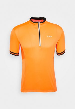 MAN BIKE - T-shirt print - flash orange