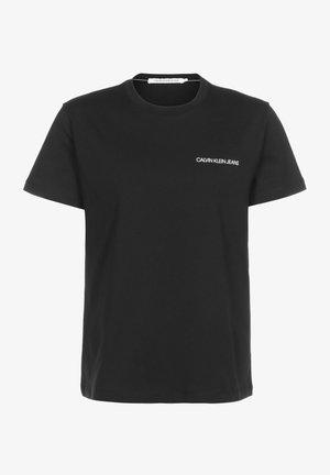 BLACK MONOGRAM - Print T-shirt - black