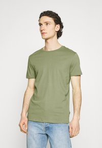 Burton Menswear London - 5 PACK - T-shirt - bas - khaki - 5