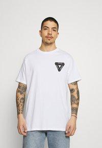 Brave Soul - DRACO - T-shirt con stampa - white - 2