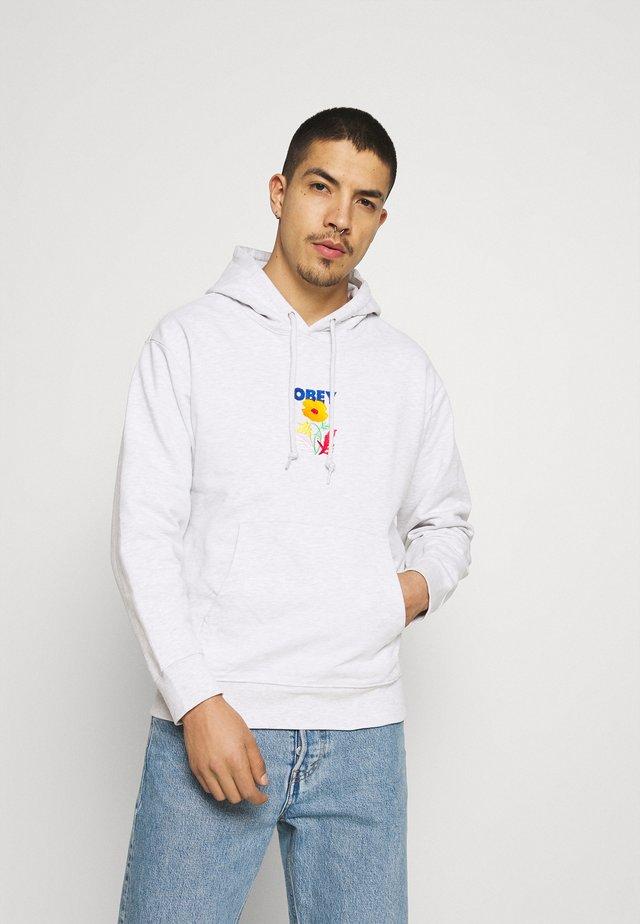 CORBEN HOOD - Sweatshirt - ash grey