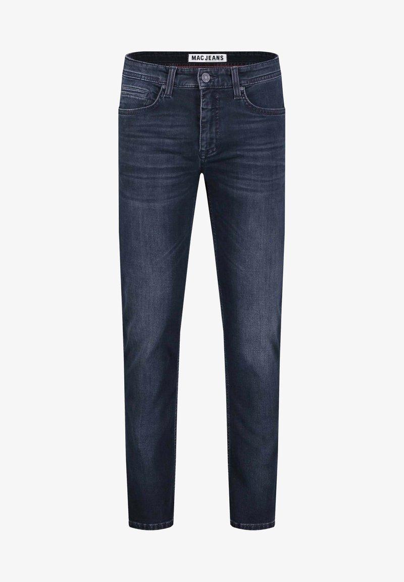 MAC Jeans - Slim fit jeans - deep blue authentic used od black