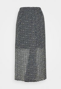 Abercrombie & Fitch - PLEATED MIDI SKIRT - A-line skirt - blue - 1