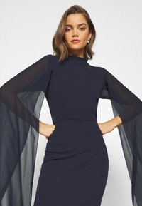 WAL G. - CAPE SLEEVE DRESS - Cocktail dress / Party dress - navy blue