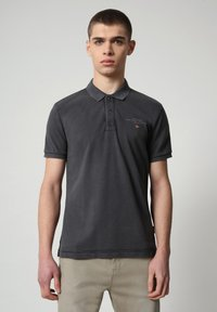 Napapijri - ELBAS - Polo shirt - dark grey solid - 0