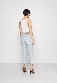 Replay - ROSE COLLECTION MAIJKE PANTS - Straight leg jeans - light blue - 2