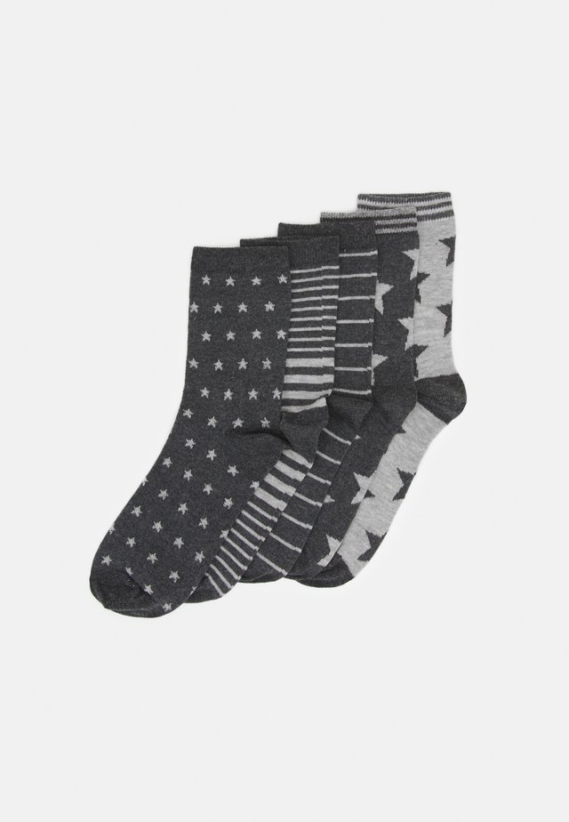 5 PACK - Calcetines - grey