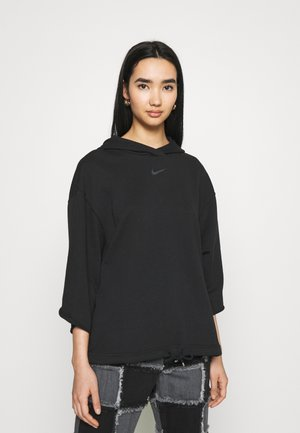 HOODIE - Sweatshirt - black/smoke grey