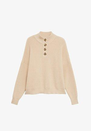 MOCK - Pullover - beige