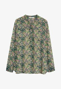 Violeta by Mango - AURELIA - Button-down blouse - grün - 4