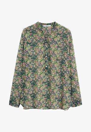 AURELIA - Button-down blouse - grün