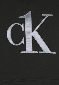 Calvin Klein Underwear - ONE RAW EDGE HOODIE - Maglia del pigiama - black - 5
