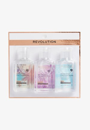 REVOLUTION HAND CLEANSING GEL 3 PACK - Bad- & bodyset - -
