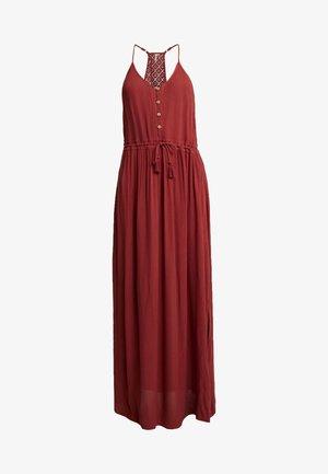 MUSE DRESS - Maxi dress - rosewood