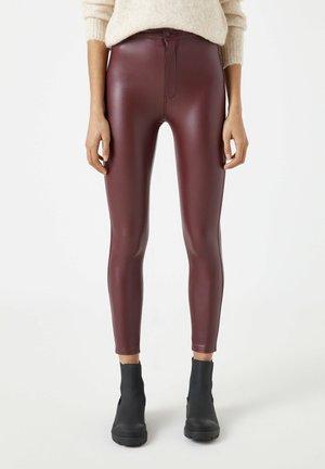 Leggings - Trousers - bordeaux