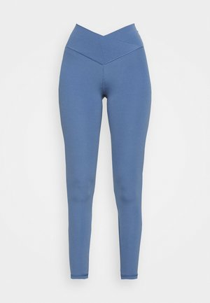 REAL ME CROSSOVER - Leggings - Trousers - somber navy